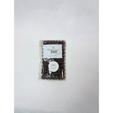Tablette 100% cacao 70g