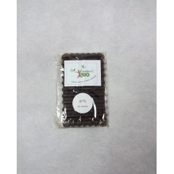 Tablette 87% cacao 100g
