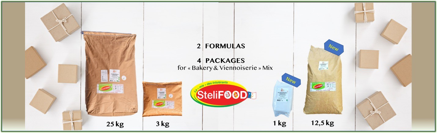 New packages SteliFOOD